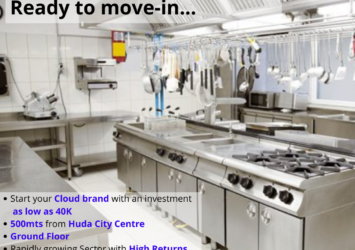 cloud kitchen for rent in dlf phase 4