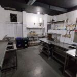 224sq feet clean kitchen available for rent - in Karol Bagh near metro station - with back exit