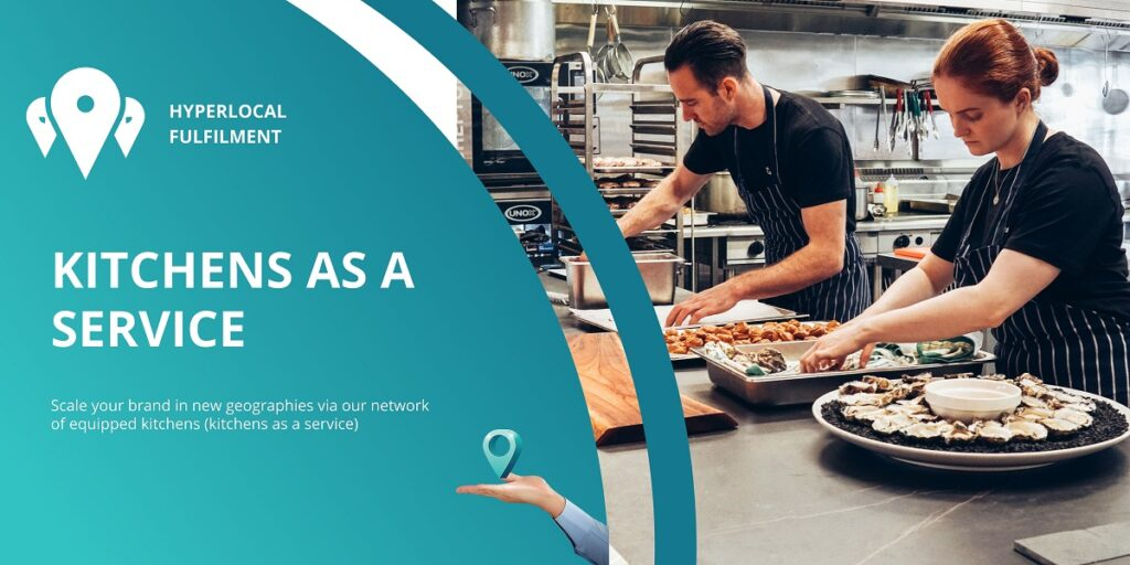 Kitchens as a service by cloud kitchen exchange